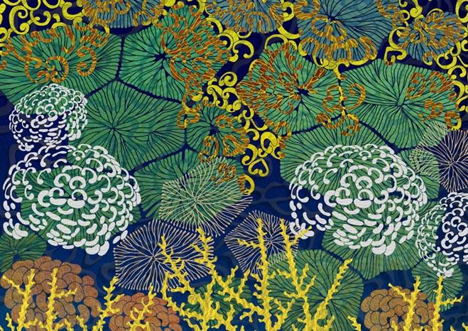 Coral Harmony By Night- Susanna Clasby