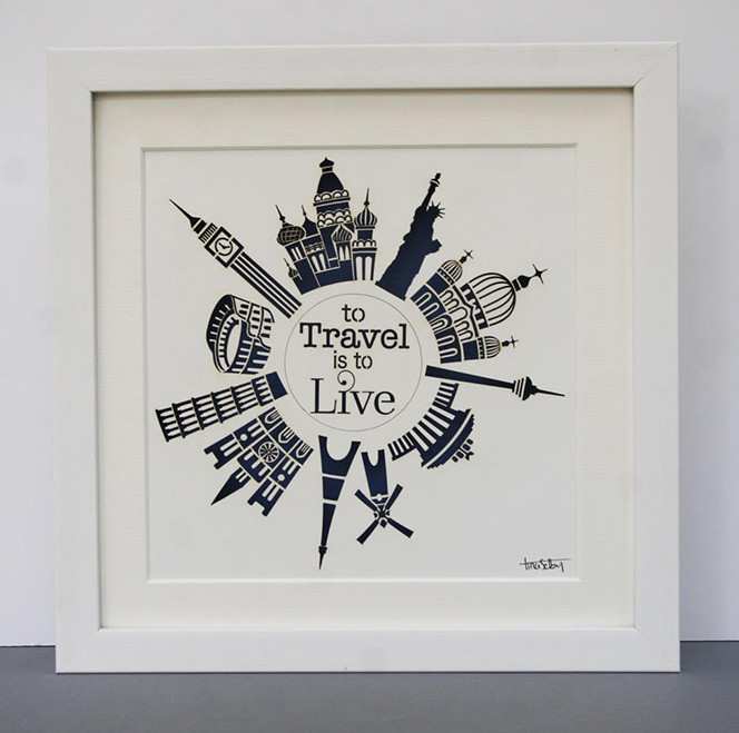 To Travel Is To LIve - Tiny Designs