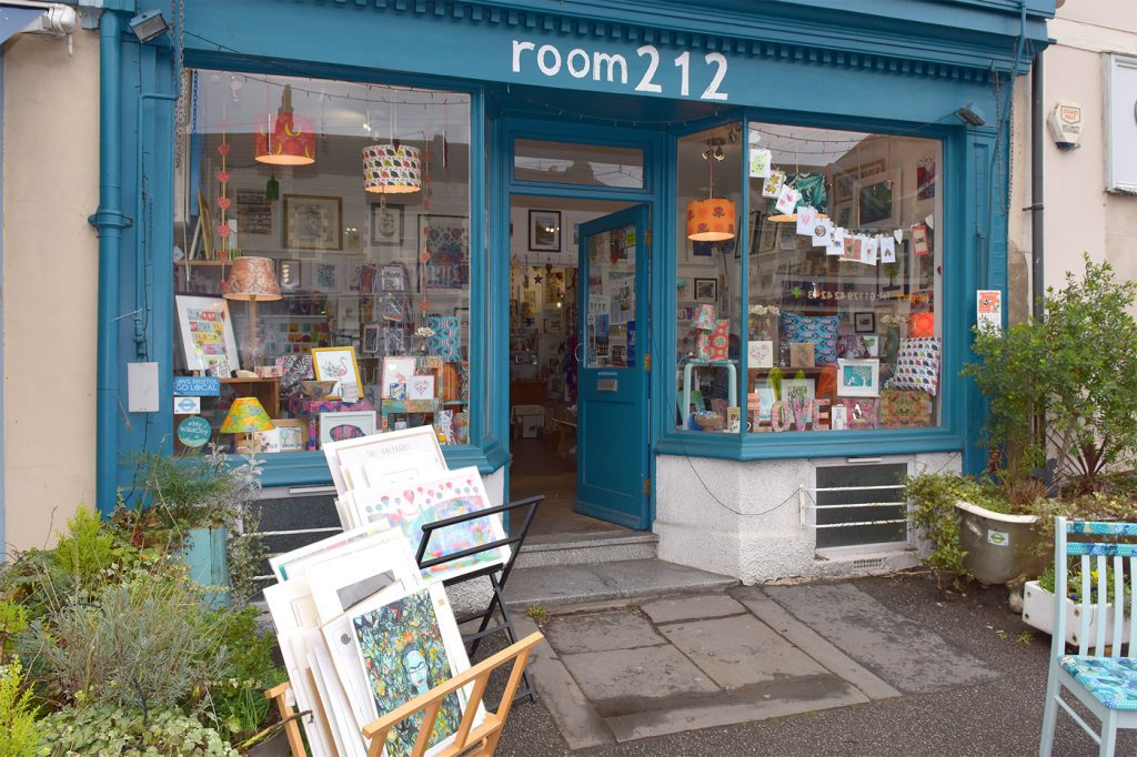 Shop and gallery in Bristol