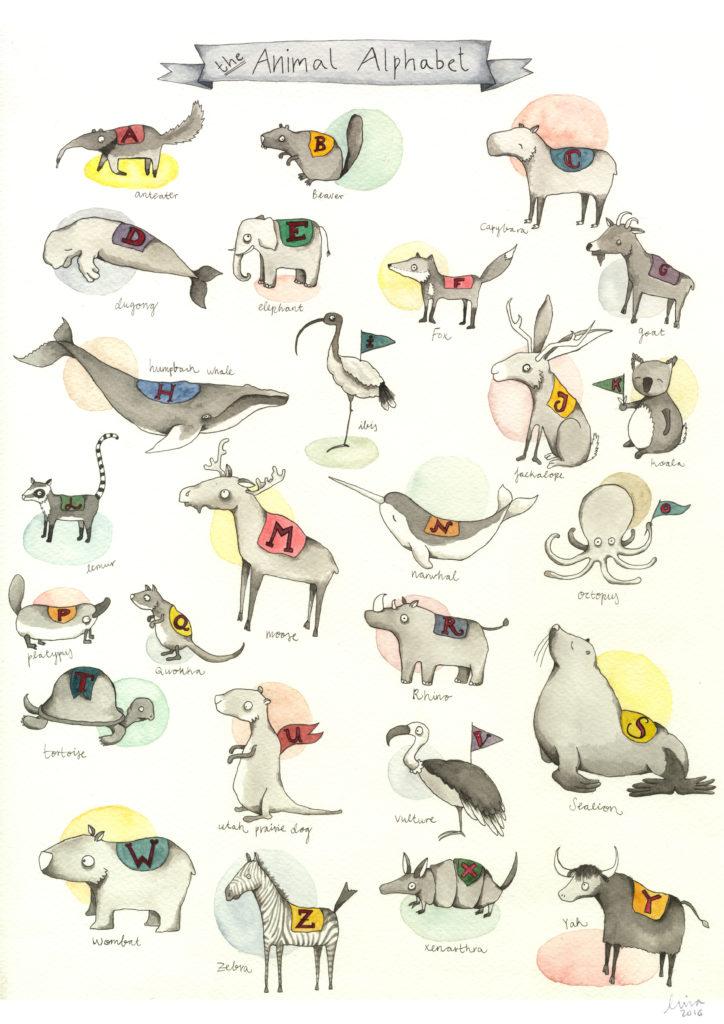 Animal Alphabet lina lofstrand