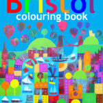 Colouring book front cover Jenny Urquhart