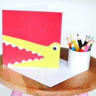 Croc On Table - Emma Garland