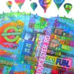 Gloucester Road Banner - Jenny Urquhart