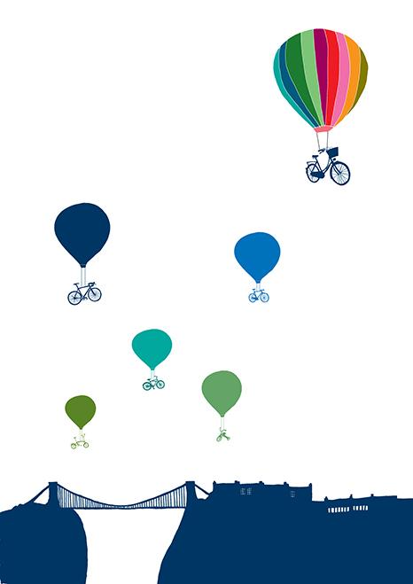 Balloons And The Bridge - Hannah Broadway