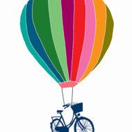 Balloon And Bike - Hannah Broadway