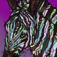 Zebra - Kelly Blake