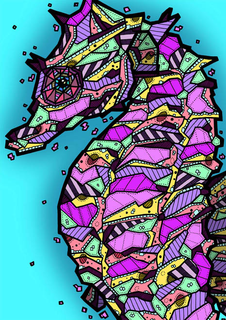 Seahorse - Kelly Blake