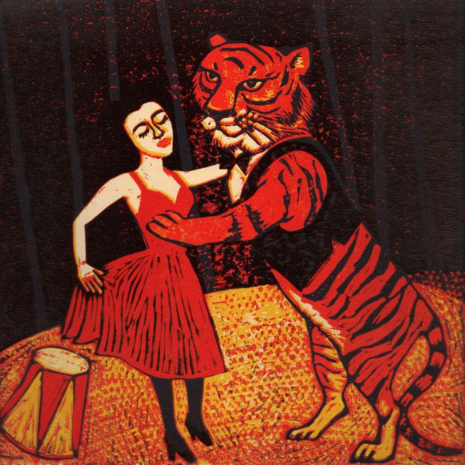 Dancing Tiger - Laura Robertson
