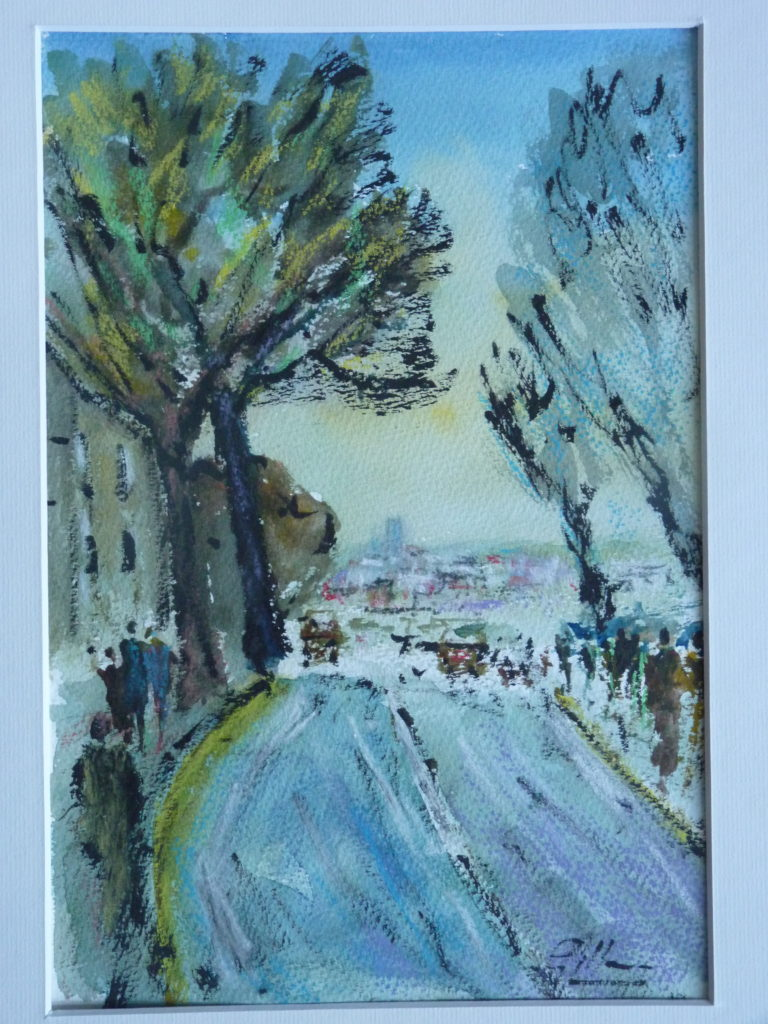 Trees By The Road - Pip Gilman