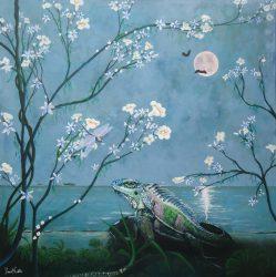 Pink Moon Rising - Daniel Walter