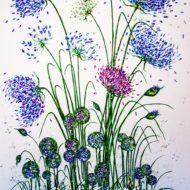 Agapanthus mixed garden border - Lynette Bower
