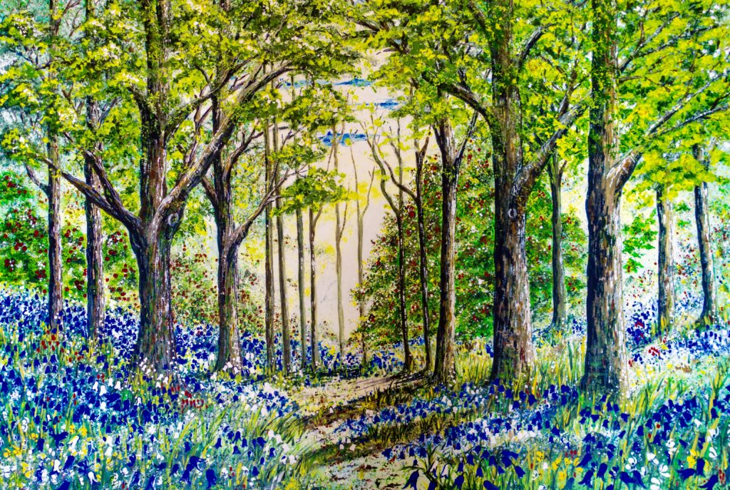 Bluebell Wood - Lynette Bower