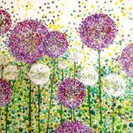 Lollipop alliums - Lynette Bower