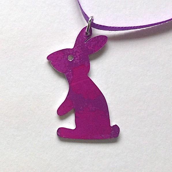 Bunny Necklace - Anita Peach
