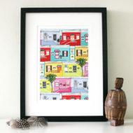 Bo Kaap Made by Ilze print insitu sml