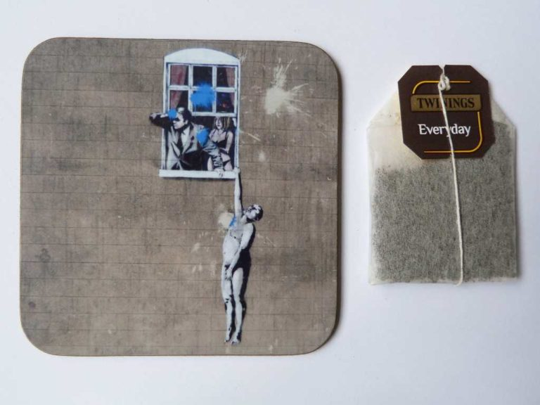 Well Hung Lover (Banksy) - Pieces Of Bristol
