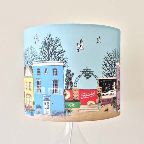 bristol houses lampshade - Made By Ilze