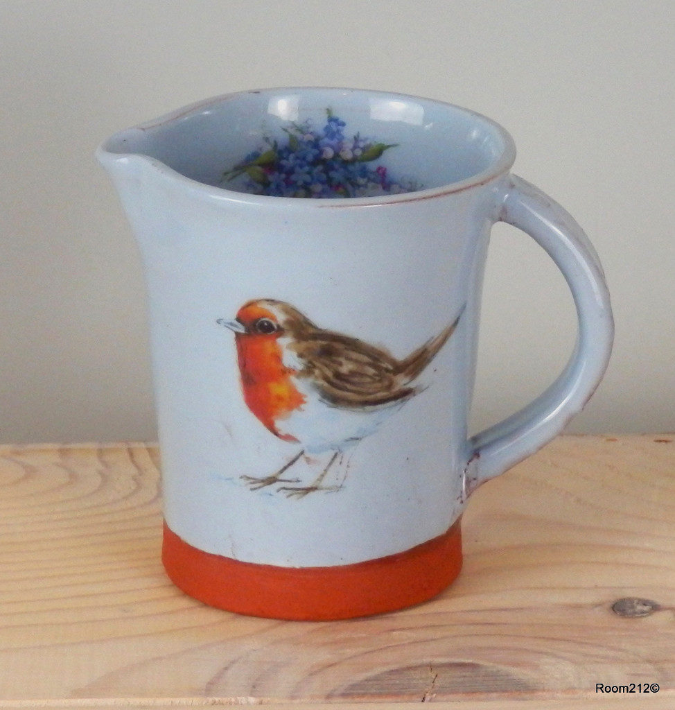 Blue Robin Mug - Jane Booth Ceramics