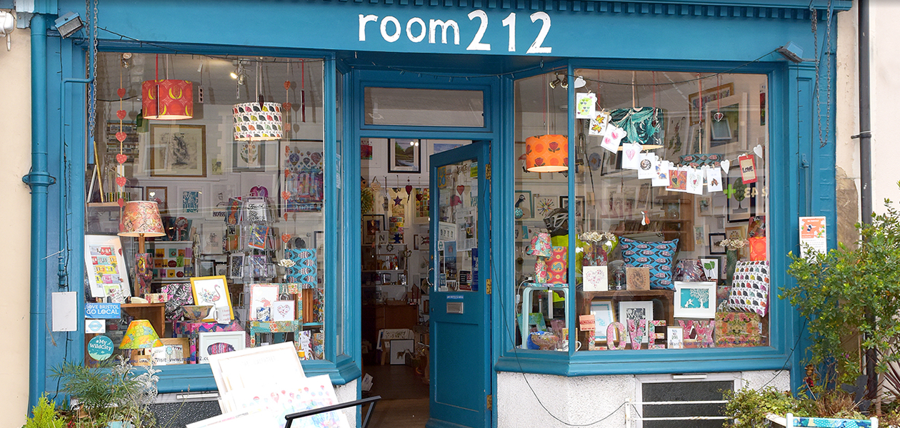 Art Shop room 212 - shop and gallery - gloucester road, bristol