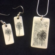 Pendant And Earrings - Wendy Calder
