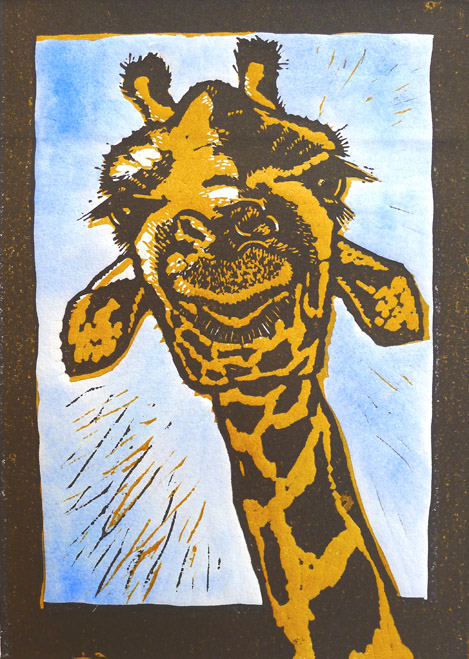 Blue_sky_Giraffe - mary collett