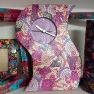 Decoupage Clock - Sarah Thorp