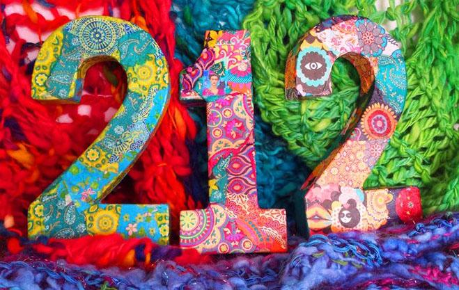 Decopage And Knitting - Sarah Thorp