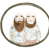 A4 tattooed sailor couple lina lofstrand