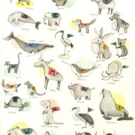 Animal Alphabet lina lofstrand