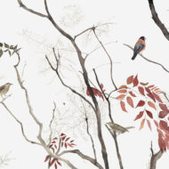 Branches And Red Leaves - Lindsay McDonagh