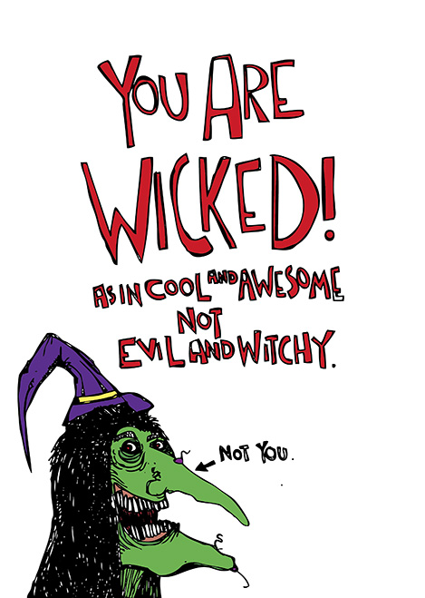 Wicked - DixonDoesDoodles