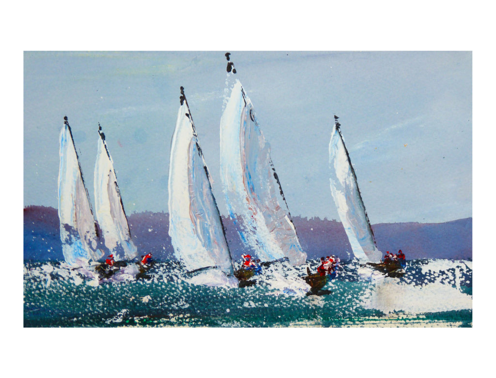 Downwind Dinghies - Anna Duckworth