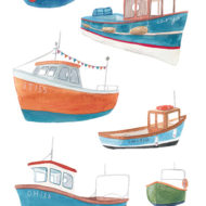 Fishing Boats - Jess Hinsley
