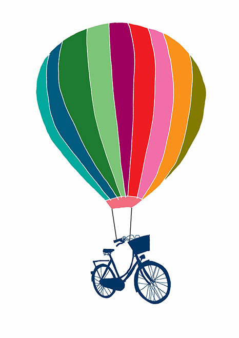 Balloon And Bike - Hannah Broadway