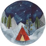 Starry Roundscape - Hattie Buckwell