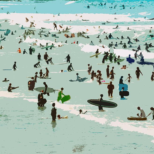 Croyde Surfers Jenny Urquhart