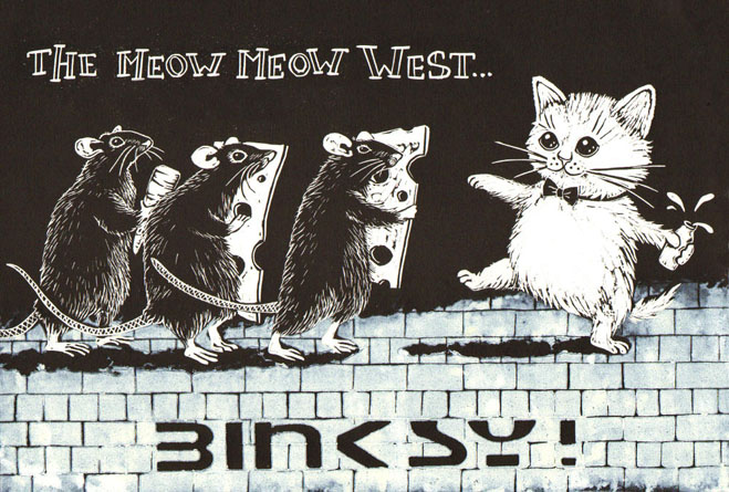 Meow Meow West - Laura Robertson