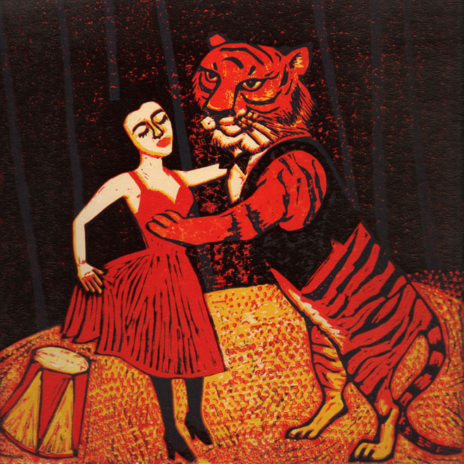 Dancing Tiger - Laura Robertson
