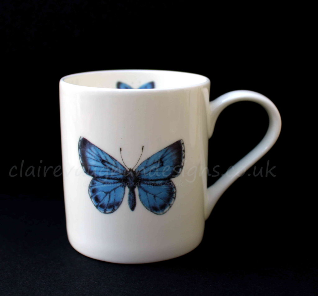 QUICK Mugs Holly Blue claire vaughan
