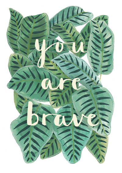 You Are Brave - Jess Hinsley