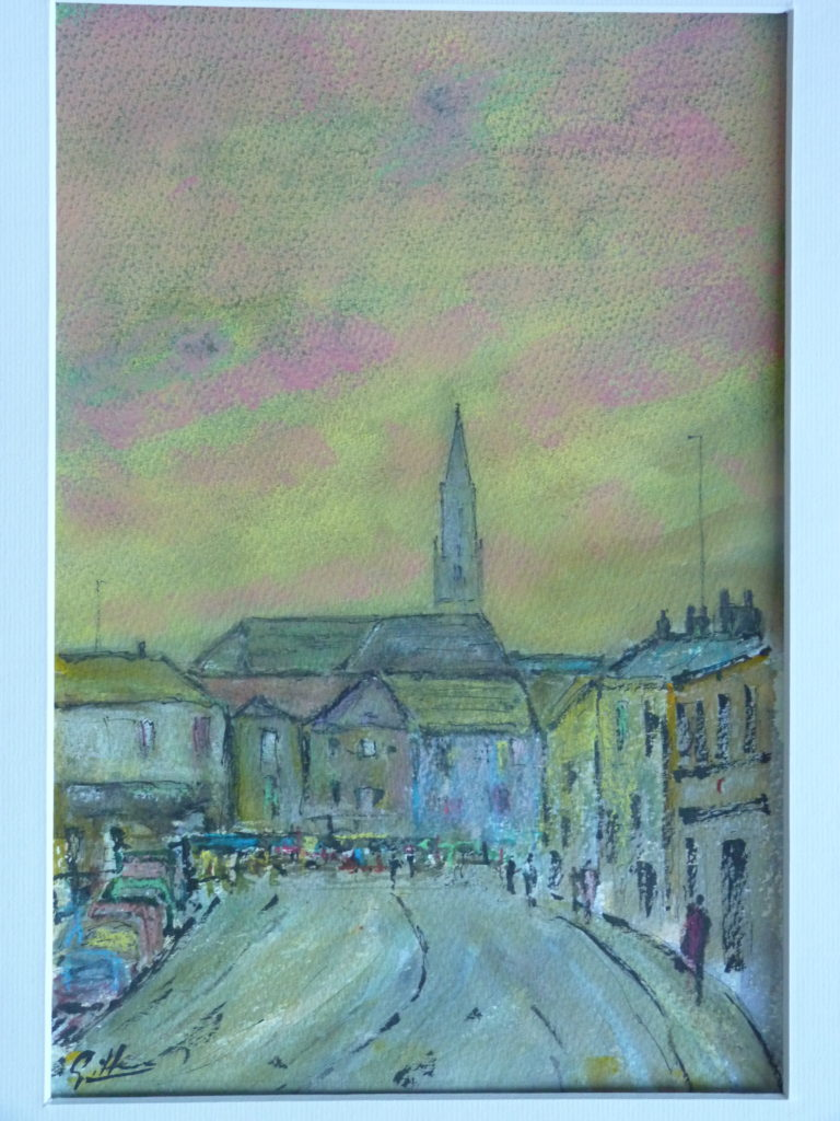 Sunset On Gloucester Road - Pip Gilman