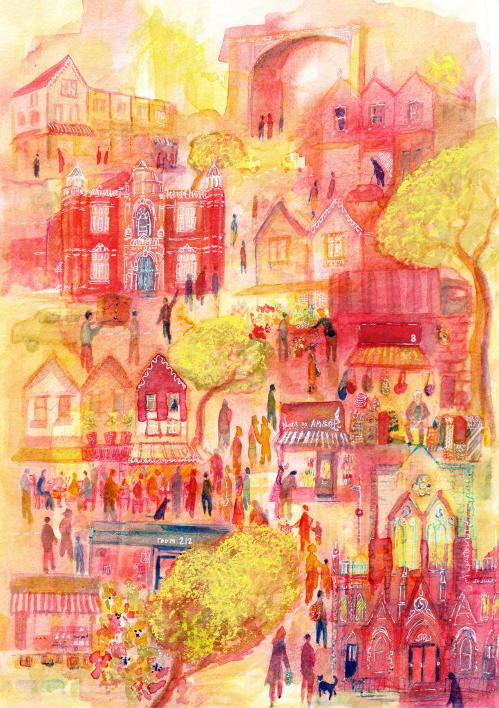Gloucester Road - Emma Burleigh