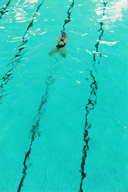 Girl Swimming - Sally Stanley