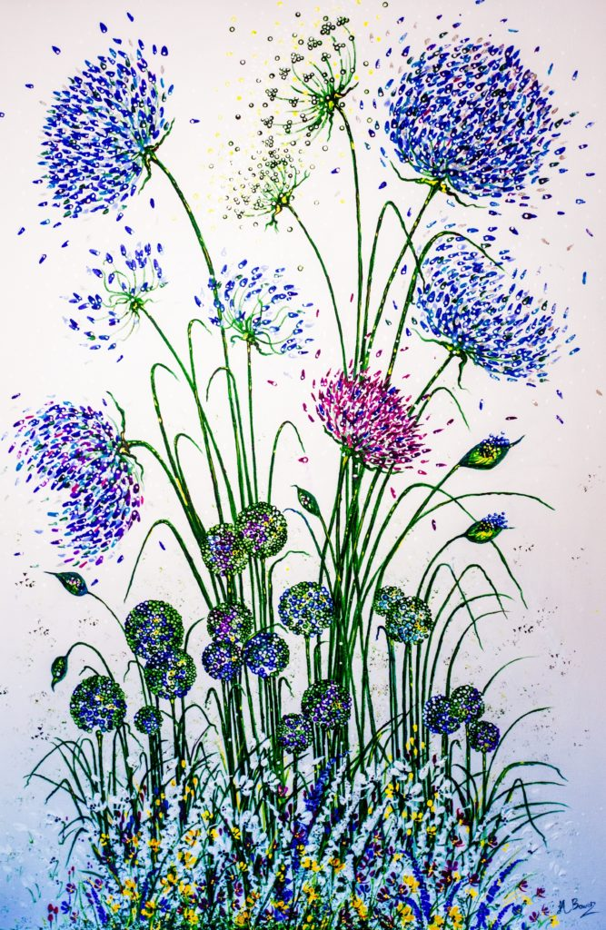 Agapanthus mixed garden border - Lynette Bower