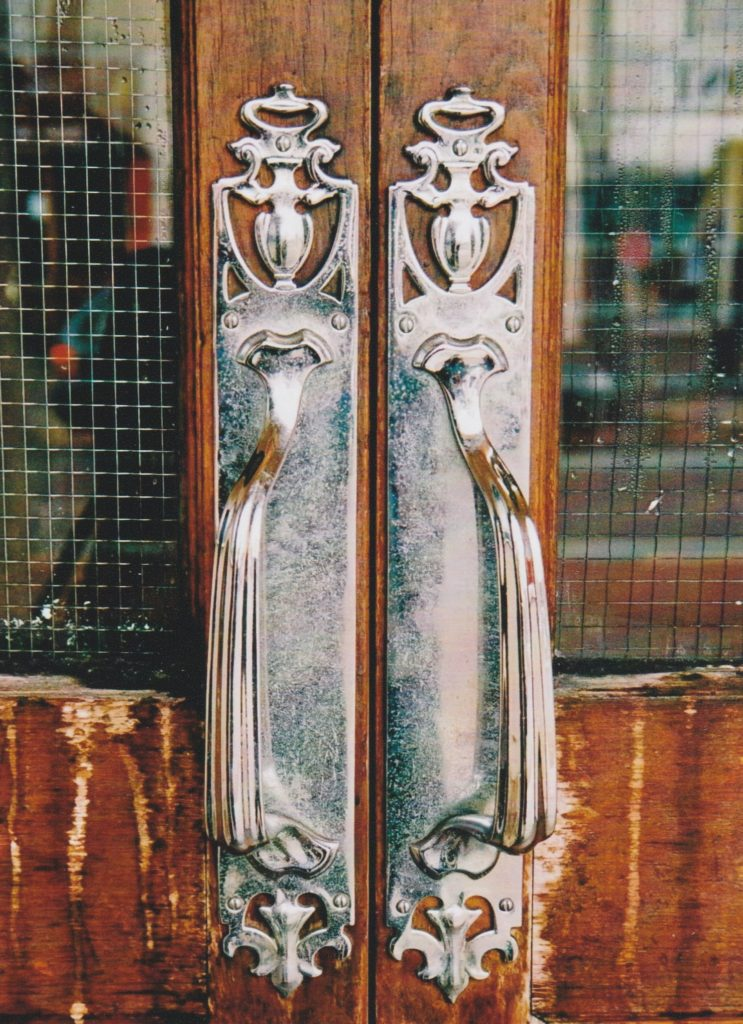 Front Door Handles - Sally Stanley