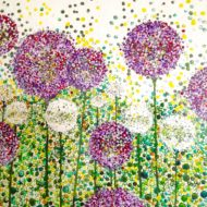 Lollipop alliums - Lynette Bower