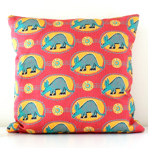 Aardvark Cushion smi Made By Ilze