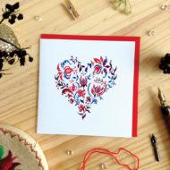 foliage heart card - Katharina Nyilas
