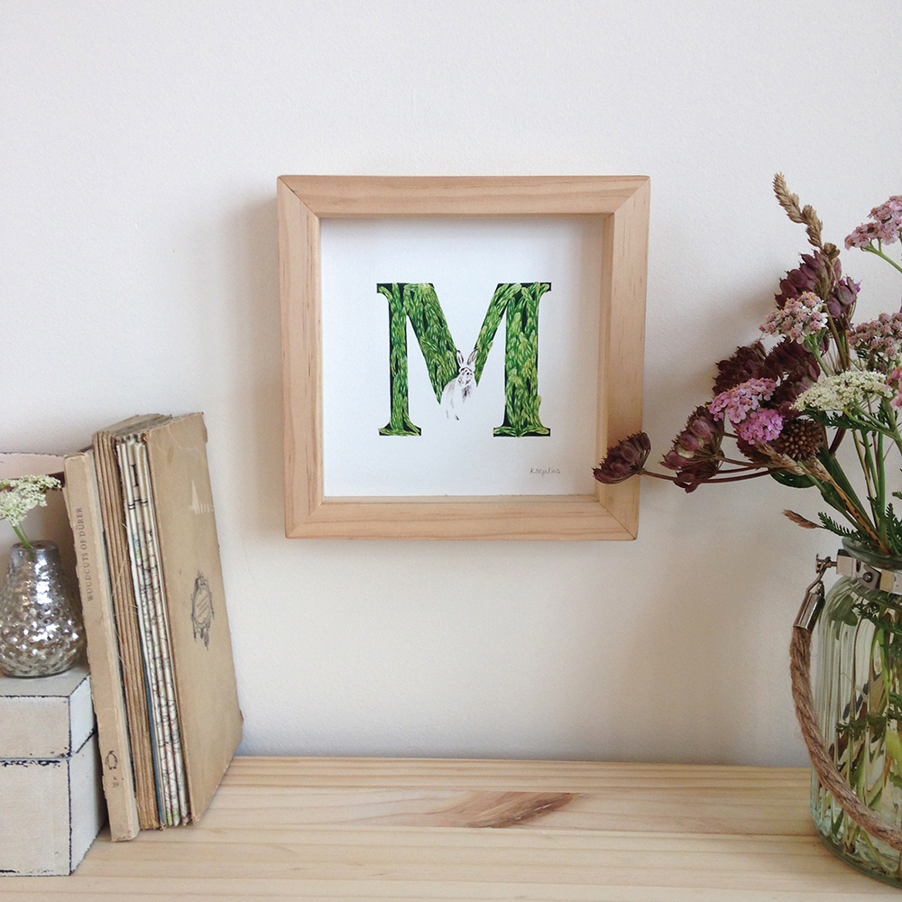 forest letter M - Katharina Nyilas