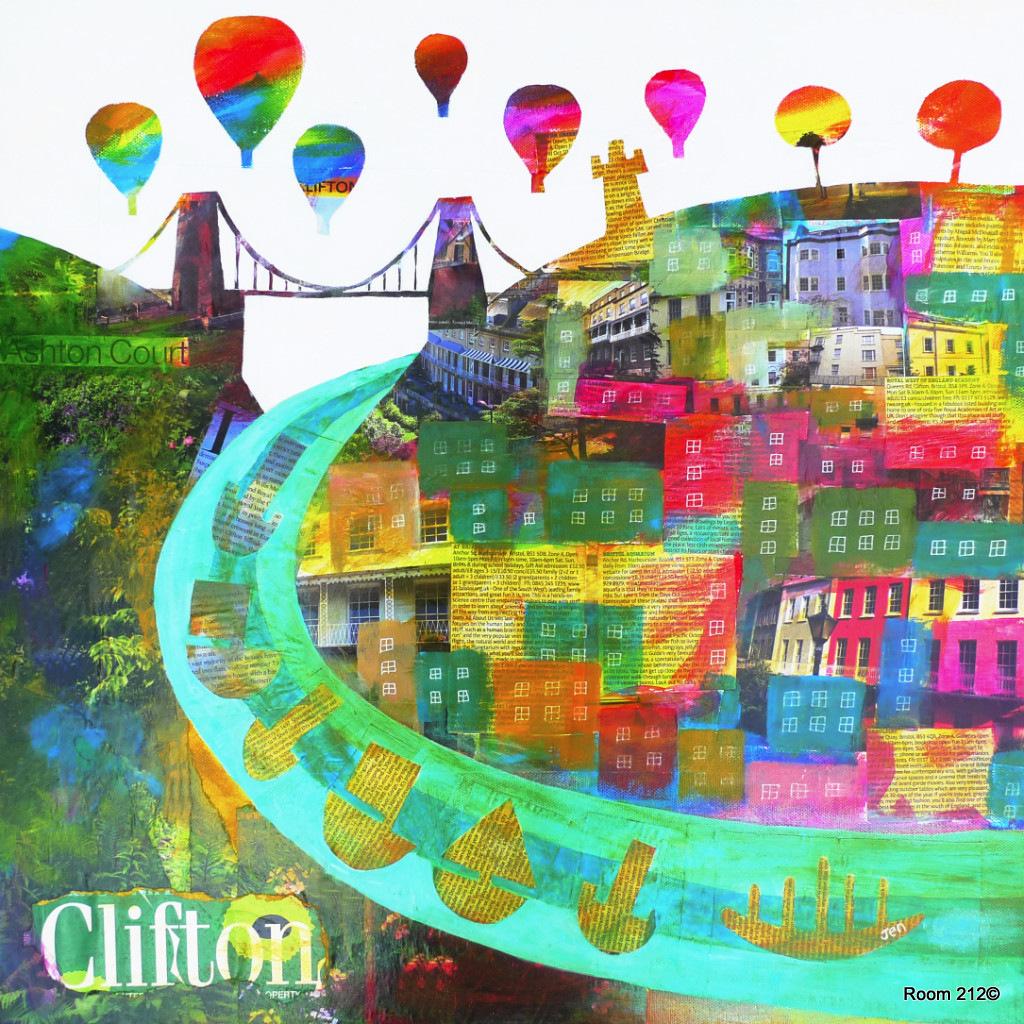 Clifton Colours Print - Jenny Urquhart - Room 212